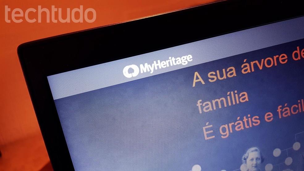 تساعد المواقع على إنشاء شجرة عائلة عبر الإنترنت الصورة: Paulo Alves / TechTudo