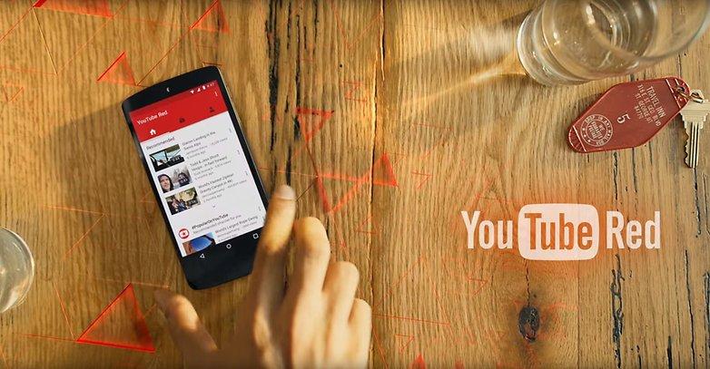 يوتيوب أحمر nouveautes fonctionnalites disponites بطل صورة 01