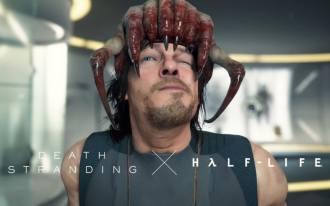مشهد مقطورة للإعلان عن العرض الأول لـ Death Stranding للكمبيوتر. المصدر: ألعاب 505 (يوتيوب)