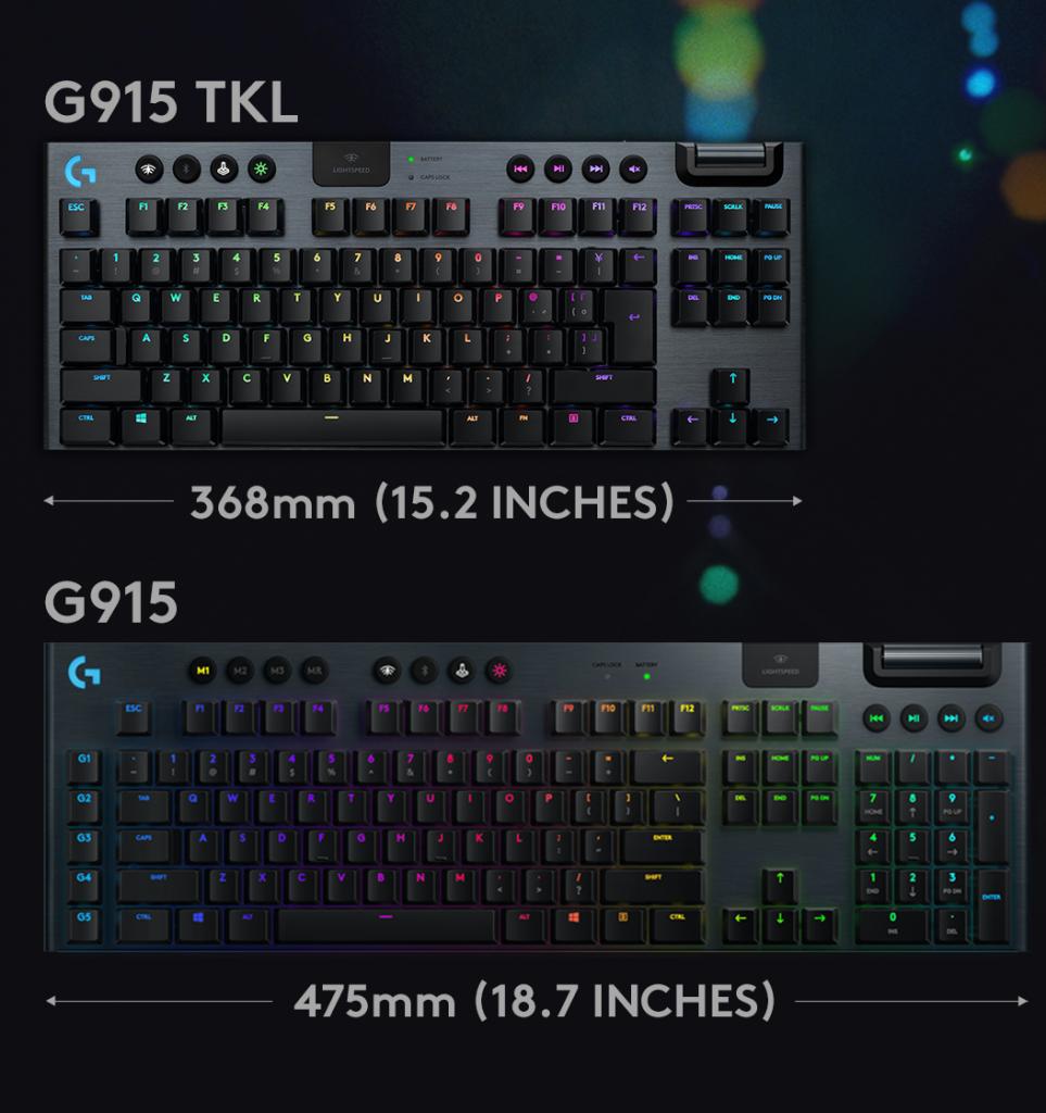 لوجيتك G915 TKL ولوجيتك G915