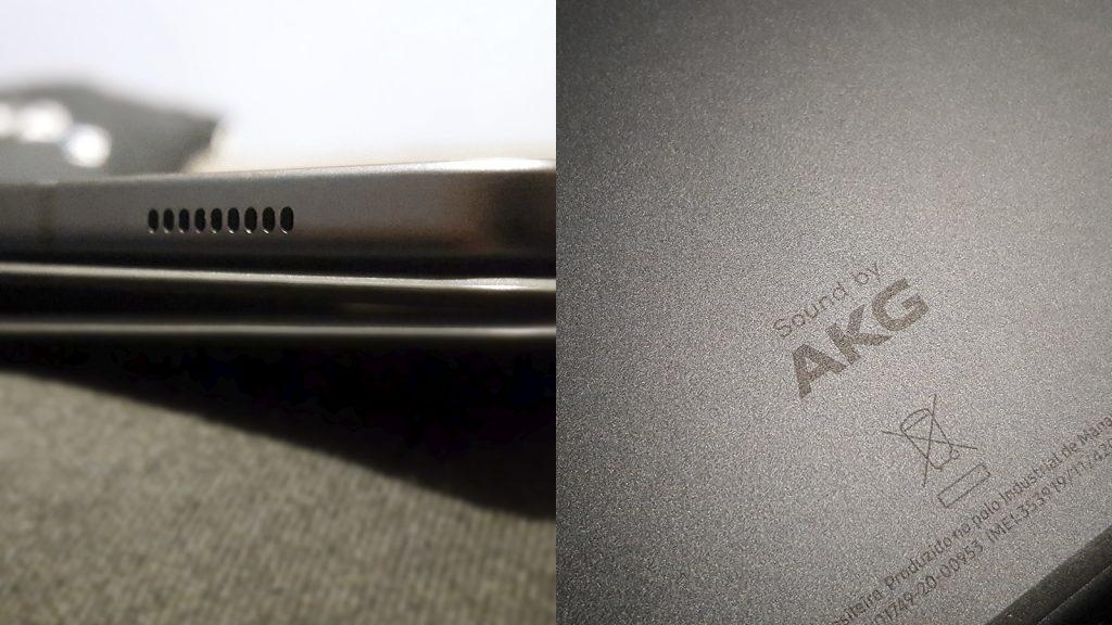 مكبرات صوت سامسونج تاب s6 لايت وتفاصيل AKG