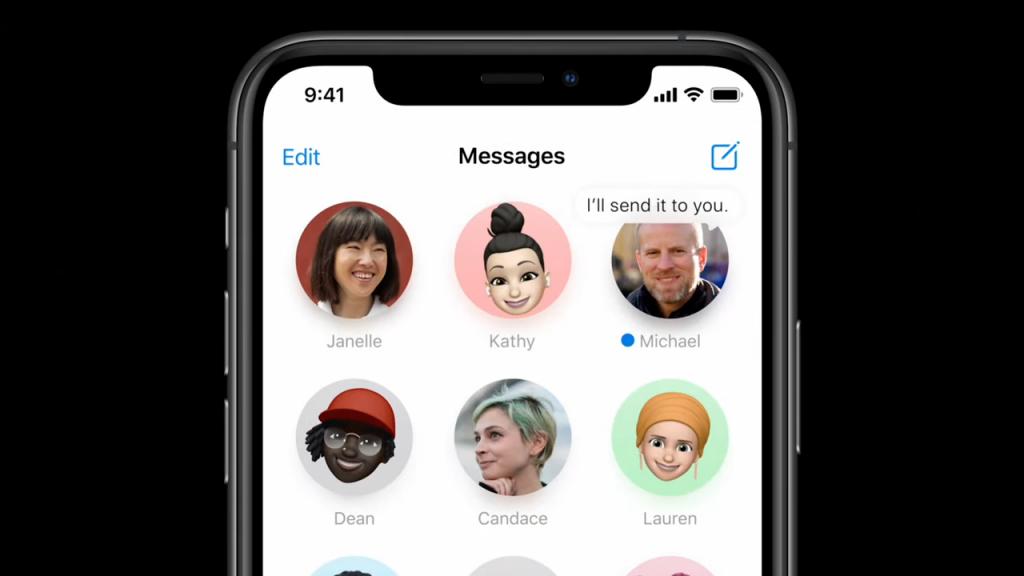 تم تثبيت المحادثات على iOS 14