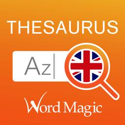 رمز تطبيق قاموس المرادفات الإنجليزية