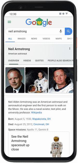 جوجل AR | نيل أرمسترونغ