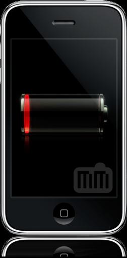 بطارية iPhone منخفضة