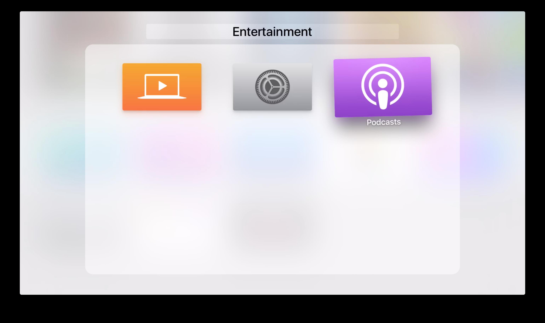 لقطة شاشة TvOS 9.2 beta