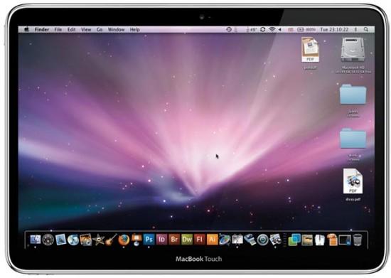 نموذج MacBook Touch
