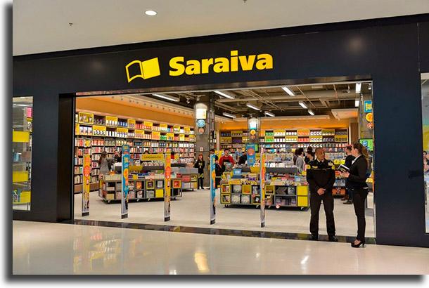 Saraiva حيث لشراء اللوازم المكتبية الرخيصة