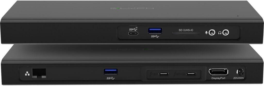 Glyph lana dock Thunderbolt 3 مع SSD مضمن لأجهزة Macs - MacMagazine.com