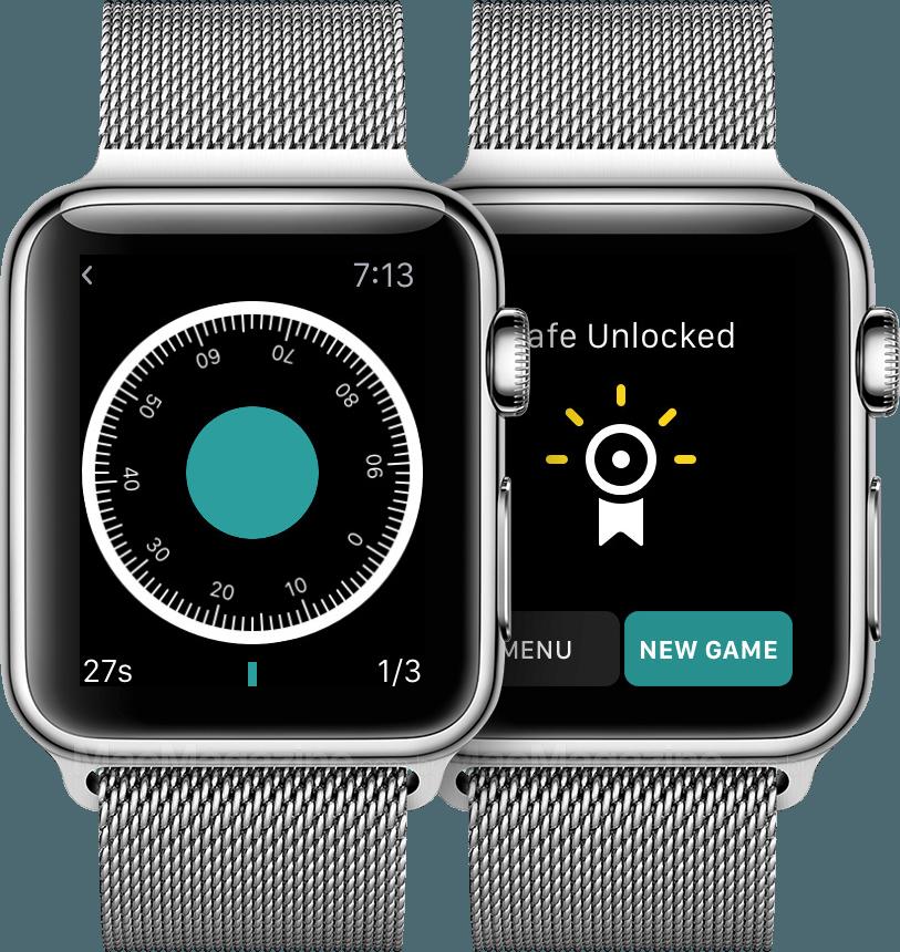 """Break this Safe"" em Apple Watches"